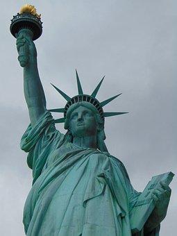 Freedom, Statue Of Liberty, Landmark, Travel, City, Usa