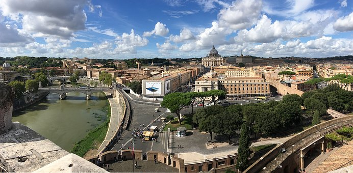 Rome, View, Vatican, Italy, Antiquity, Viewpoint