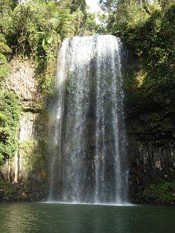 Waterfall, Milla Milla Falls, Australia, Fall, Flow