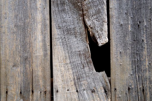 Wood, Wooden Wall, Wooden Boards, Wall Boards, Hole