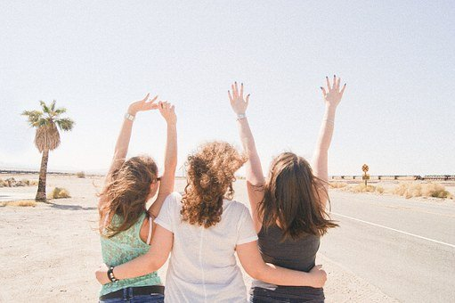 Girlfriend, Desert, Heat, Fun, America, Friends