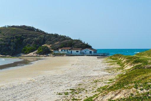 Beach, Sol, Mar, Blue Sea, Beach Peró, Cabo Frio