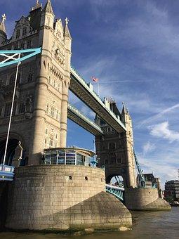 London Bridge, Tower Bridge, London, River, Bridge