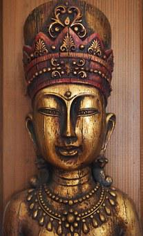 Buddha, Meditation, Rest, Harmony, Faith, Fig, Wood