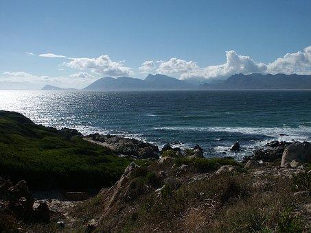 South Africa, Western Cape, Hawston, Coast, Sea Bay