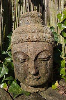 Buddha, Meditation, Rest, Harmony, Faith, Fig, Bust