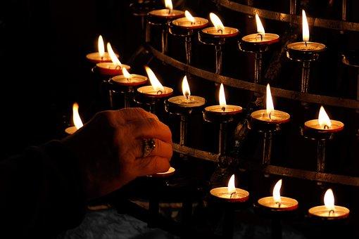 Burn, Burning, Candle, Christmas, Church, Dark, Faith
