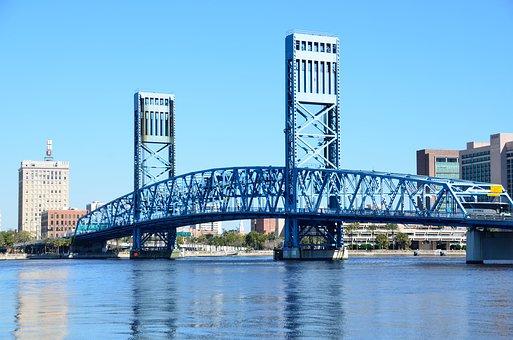 Blue Bridge, Famous, Place, Jacksonville, Florida