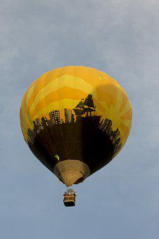 Balloon, Hot Air Ballooning, Hot-air Ballooning, Sky