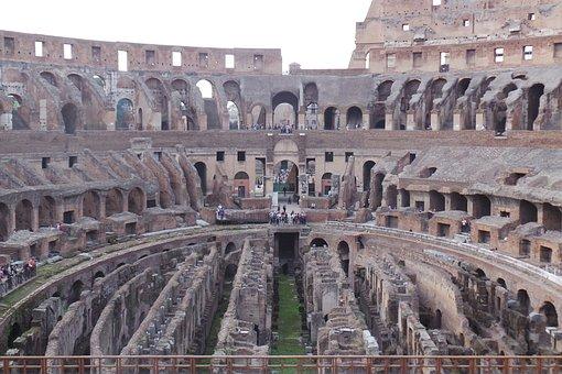 Rome, Colosseum, Gladiator, Arena, Landmark, Culture