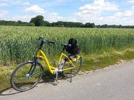 Bike, Ebike, More, Tour, Bike Ride, Cycle, Leisure