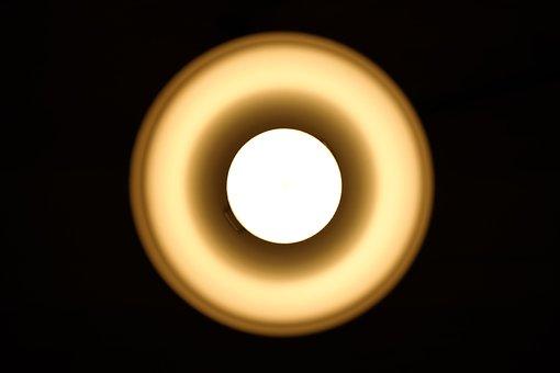 Light Bulb, Lamp, Light, Night Table Lamp, Led