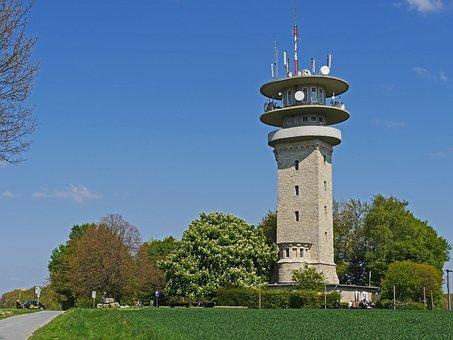 Longinusturm, Baumberge, Münsterland, Ridge