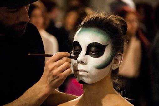 Expocosmética, Presentation, Model, Face Painting