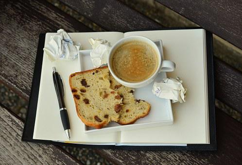 Coffee, Break, Coffee Break, Cup, Notebook, Write Down