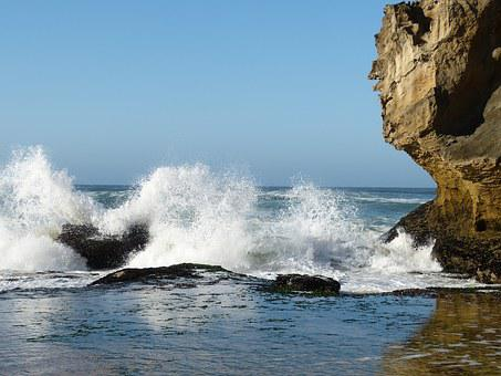 South Africa, Garden Route, Nature Reserve, Ocean