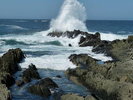 South Africa, Garden Route, River, Rock, Water, Nature