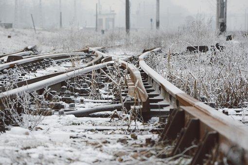Road, Nature, Winter, Photography, Plants, Railroad