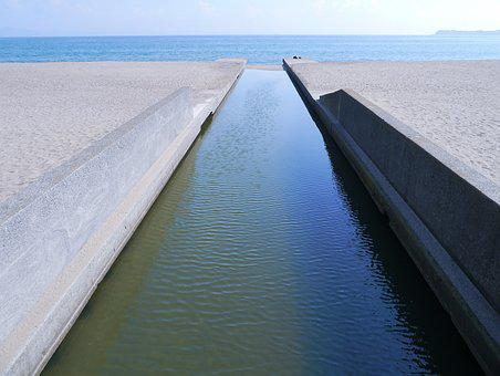 Drainage, The Road To The Sea, Sea, Road Of Water