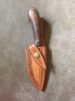 Knife, Sheath, Tool, Handcrafted