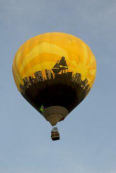 Balloon, Hot Air Ballooning, Hot-air Ballooning, Sky