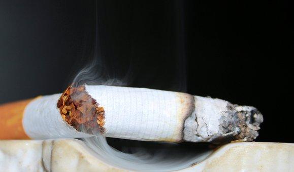 Cigarette, The Last Cigarette, Smoking, Ashtray