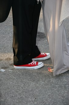 Wedding Shoes, Canvas, Shoes, Sneakers, Running Shoes