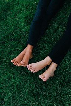 Feet, Grass, Best Friends, Nature, Summer, People, Legs