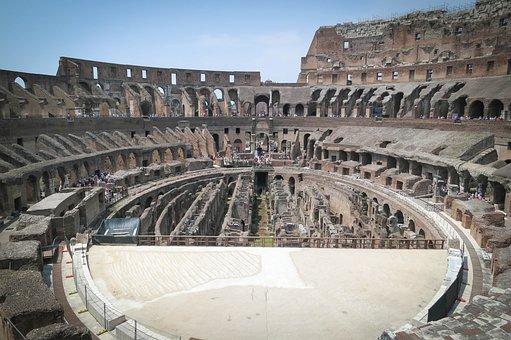 Colosseum, Rome, Italy, Europe, Travel, Roman, Coliseum