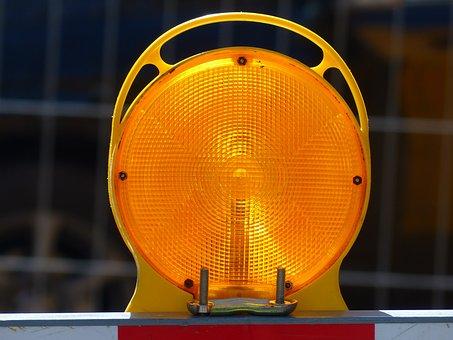 Warning Lamp, Warning Light, Warnblinkleuchte