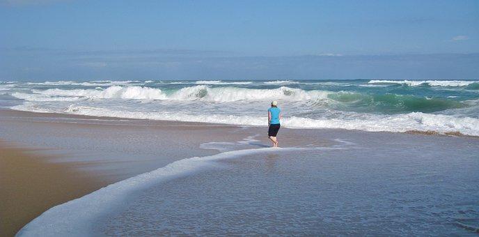 Sea, Wave, Surf, Coast, Beach, Nature, Crusher