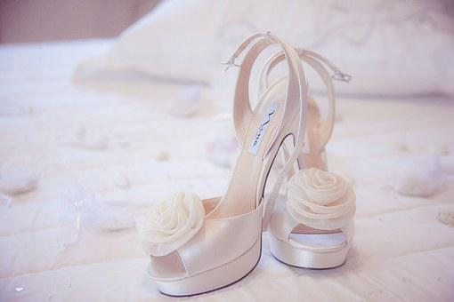 Shoes, Wedding Dresses, Sugared Almonds, Bed, Fine