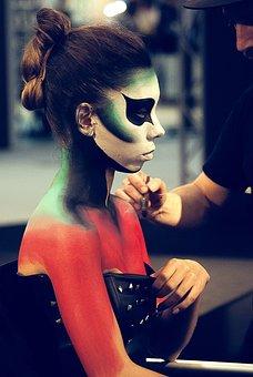 Expocosmética, Woman, Body Painting, Presentation