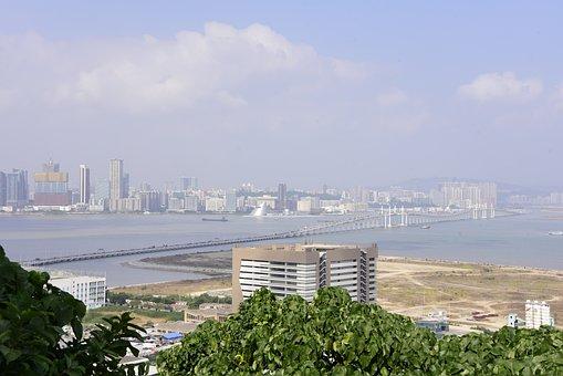Macau, Macao, China, Architecture, Hotel, Asia