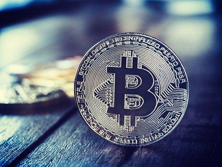 Bitcoin, Symbol, Coin, Economic, Blockchain, Currency