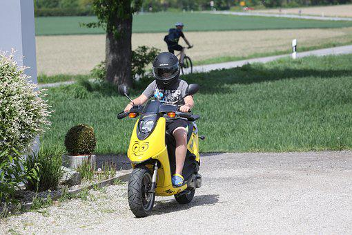 Roller, Moped, Everyday Life, Cool, Two Wheeled Vehicle