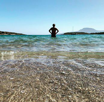 Father's Day, Sea, Relaxation, Man, Water, Island