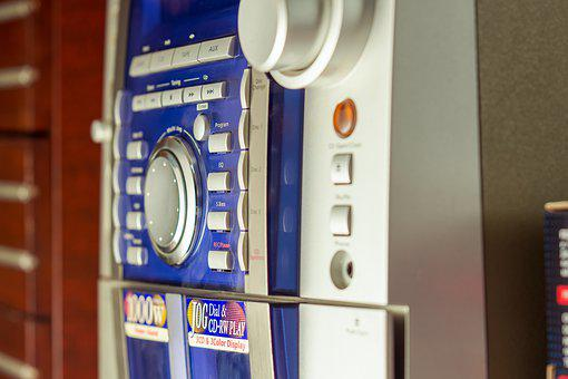 Music Senter, Button, Radio, Mp3, Style, Sound, Digital