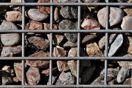 Stones, Grid, Background, Wall