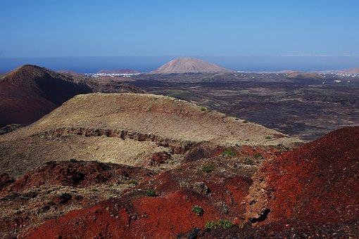 Lanzarote, Spain, Canary Islands, Nature, Sea