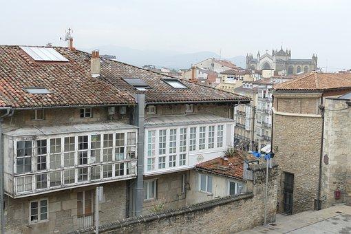 City, Cityscape, Architecture, History, Old, Misty