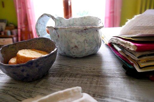 Breakfast, Coffee, Chocolate, Cappuccino, Mug, Morning