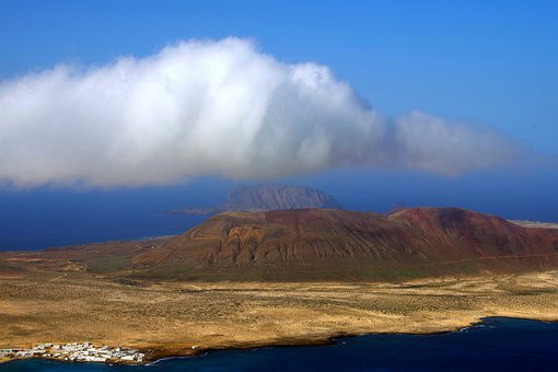 Lanzarote, Volcano, Island, Mirador, Miradordelrio