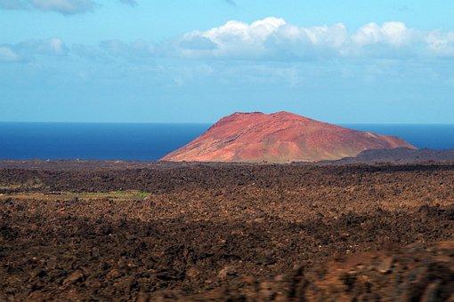 Lanzarote, Volcano, Timanfaya, Landscape, Nature