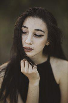 Young, Girl, Woman, Model, Pose, Portrait, Overview