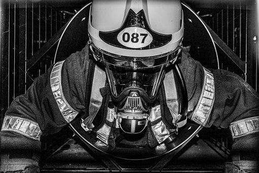 Helmet, Motorcycle, Monochrome, Street, Astronaut