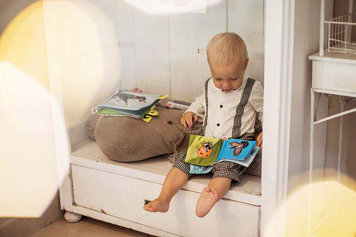 Infant, Baby, Child, Cute, Boy, Adorable, Book