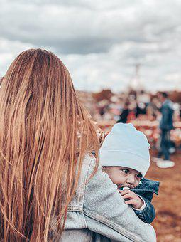 Child, Mom, Love, Family, Woman, Son, Motherhood