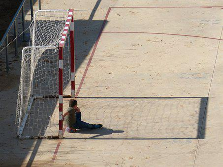 Porter, Child, Shadow, Sport, Rest, Play, Game