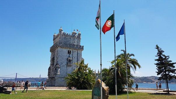 Lisbon, Torre Belem, Portugal, Places Of Interest
